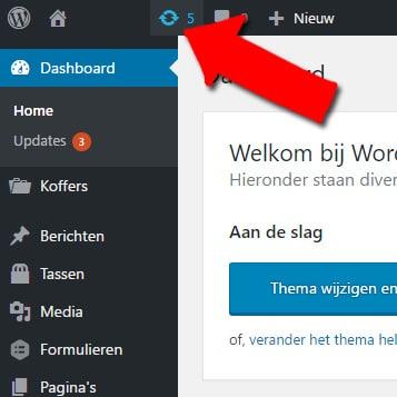 wordpress onderhoud updates